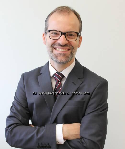 Martin Zartl verantwortet ab sofort das Ophthalmologie-, Neurologie- & Lungenhochdruck-Geschäft bei Bayer Austria : Fotocredit: Bayer Austria GmbH/Georgiev, © Aussender (19.10.2016)