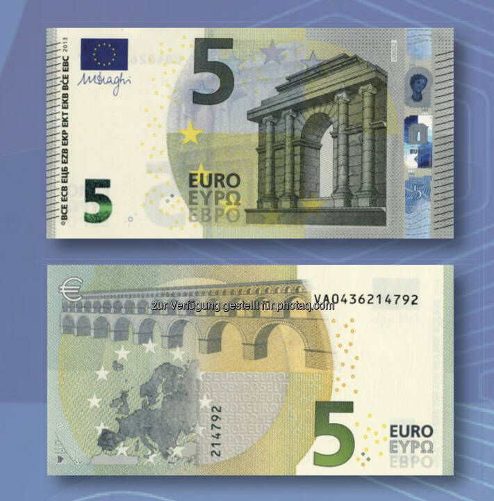 alter und neuer 5 euro schein bild 5723 oenb auf euro shop tour neue 5 euro banknote. Black Bedroom Furniture Sets. Home Design Ideas