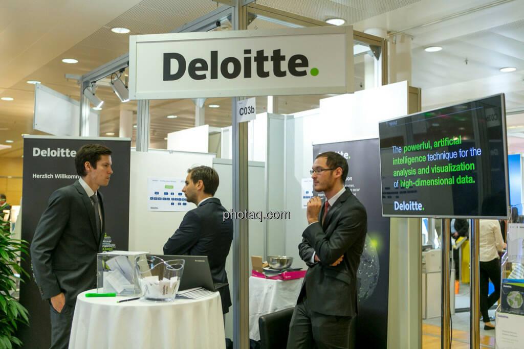 Deloitte, © Martina Draper/photaq (20.10.2016)