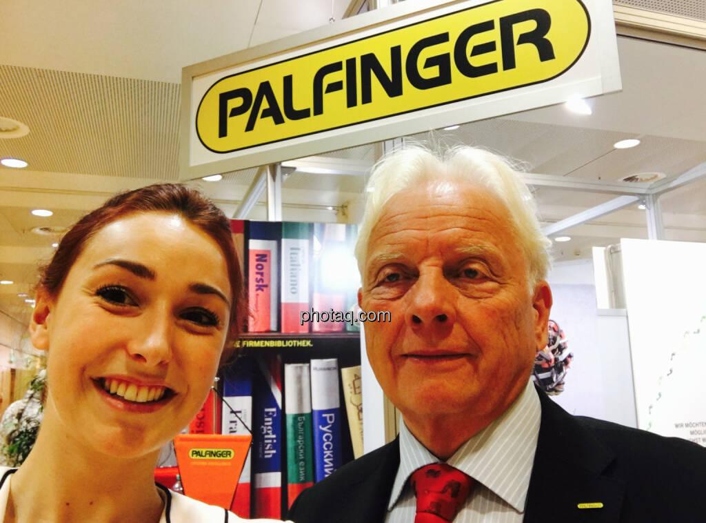 Selfie Palfinger, © jeder selbst (20.10.2016)