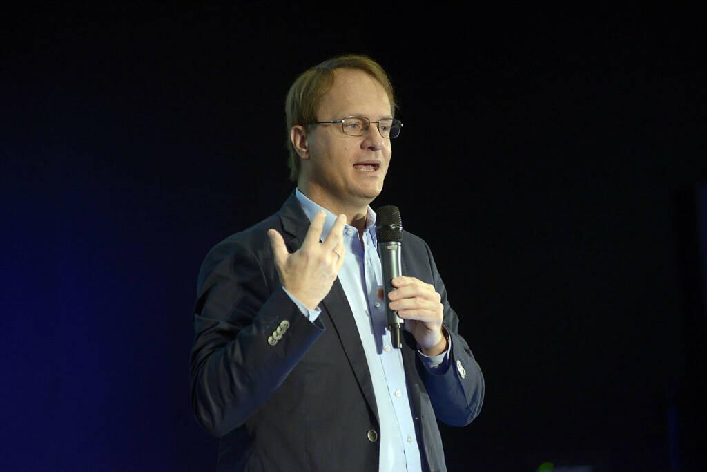 Markus Hengstschläger, Genetiker, Keynote, © C.I.R.A./APA-Fotoservice/Bargad Fotograf/in: Nadine Bargad (23.10.2016)