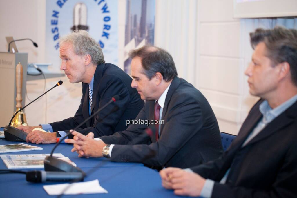 Christian Drastil (BSN), Wolfgang Matejka (Matejka & Partner), Robert Gillinger (Börse Express), © Michaela Mejta (25.10.2016)