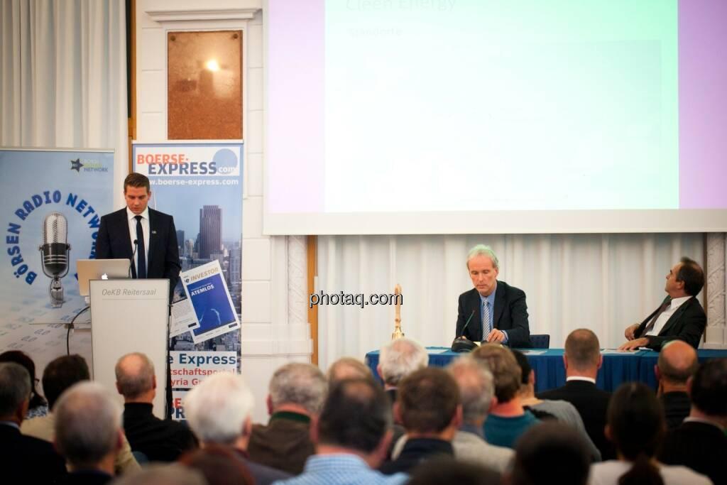 Lukas Scherzenlehner (Cleen Energy), Christian Drastil (BSN), Wolfgang Matejka (Matejka & Partner), © Michaela Mejta (25.10.2016)