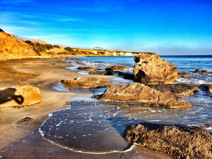 wieder ein neuer Strand