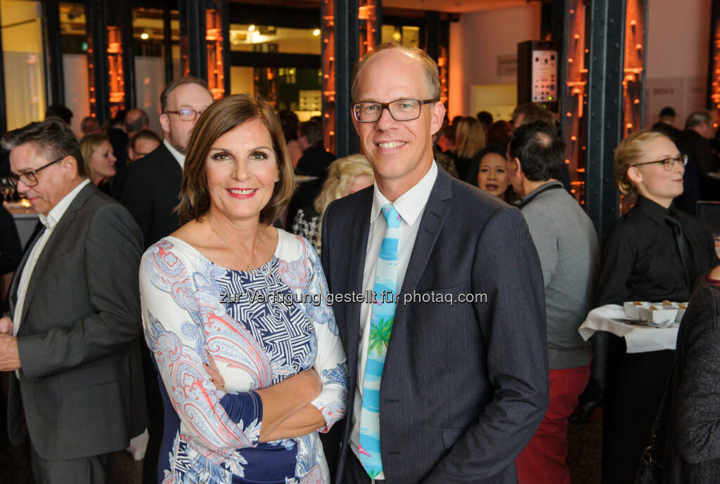 Die Geschäftsführer der dpa-Tochter news aktuell: Edith Stier-Thompson und Frank Stadthoewer, © news aktuell (04.11.2016)