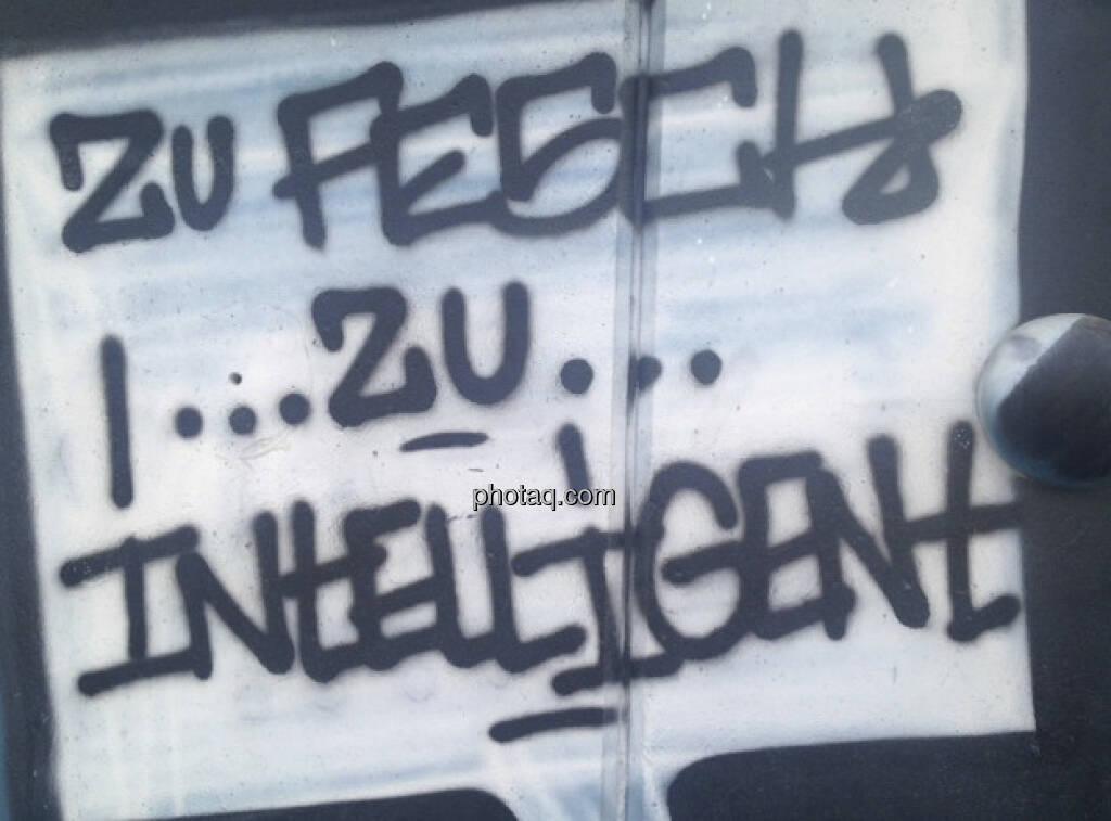 Zu fesch, zu intelligent (02.05.2013)