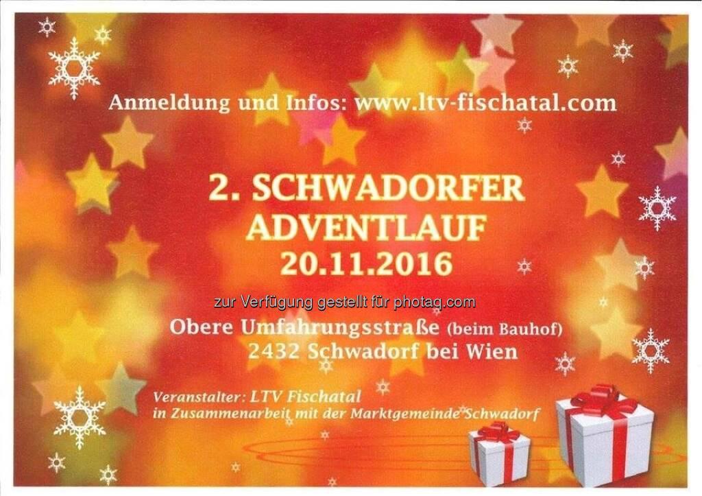 2. Schwadorfer Adventlauf (14.11.2016)