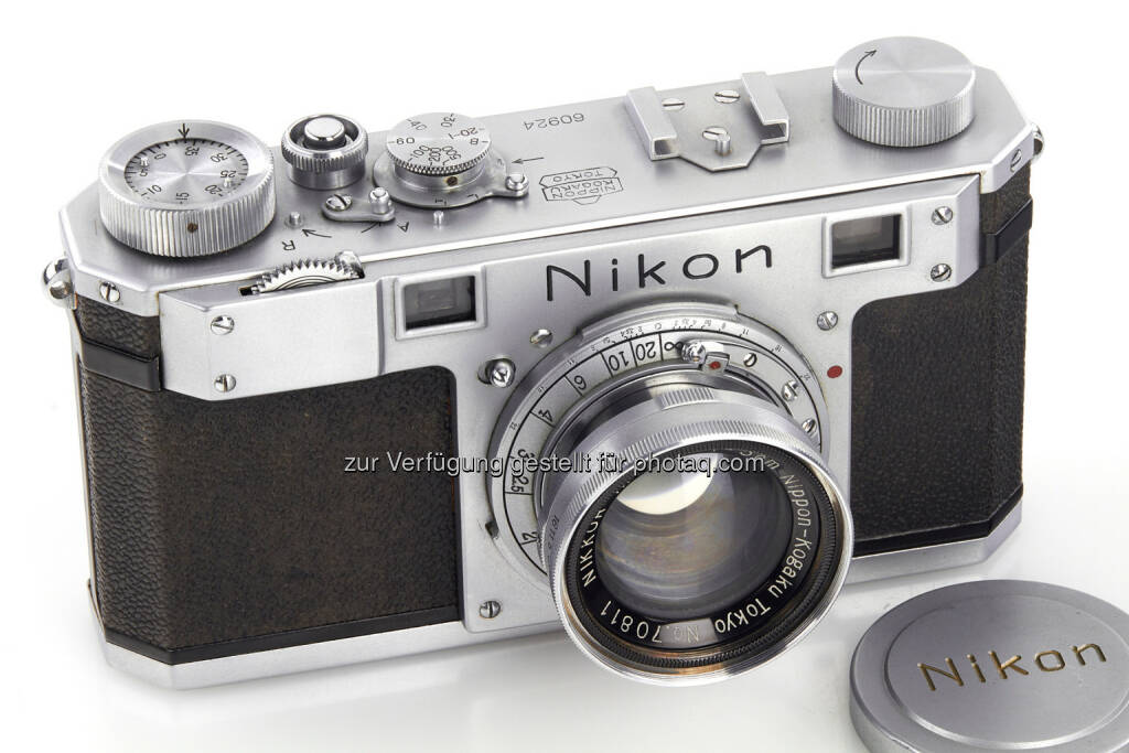 Nikon One - Westlicht: Wien: Weltrekorde bei WestLicht Jubiläumsauktionen, 18. & 19. November 2016 - 384.000 Euro für die früheste Nikon Kamera! (Fotograf: WestLicht Photographica Auction), © Aussendung (22.11.2016)