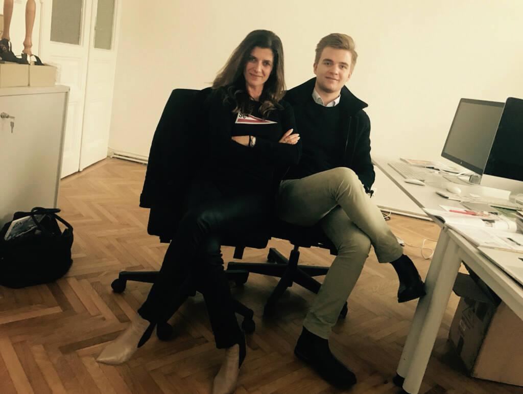 Mit Alexandra Aicher und Maximilian Aicher  (22.11.2016)