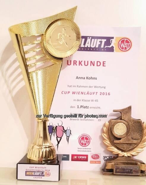 Anna Kohns Urkunde Pokal (23.11.2016)