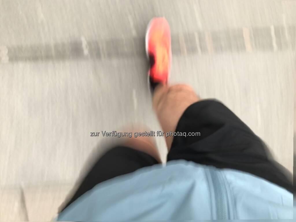 Laufen, Nike Air Zoom Elite 8, Bewegung (23.11.2016)