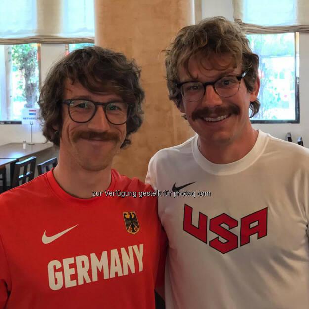 Florian Neuschwander und Matt Flaherty, © Florian Neuschwander (26.11.2016)