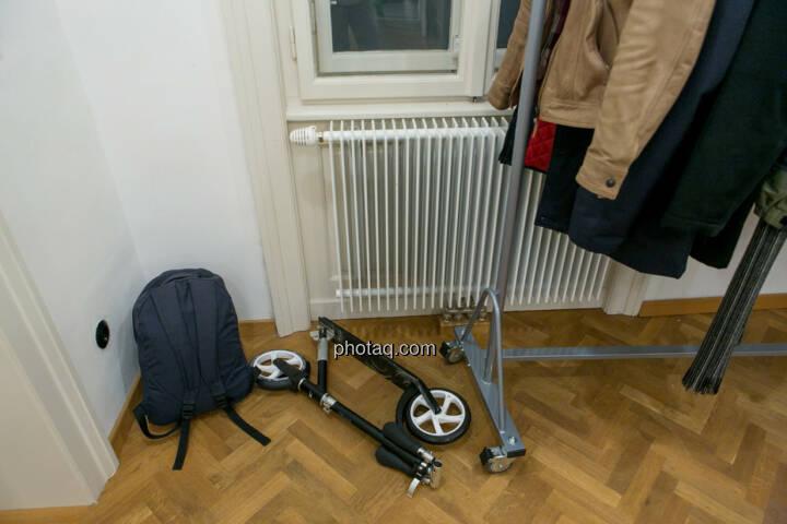 Roller, Garderobe