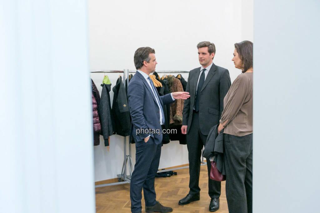 Rene Hoffmann (Vonovia), Clemens Billek (conwert), Christine Reitsamer (Baader Bank), © Martina Draper/photaq (27.11.2016)