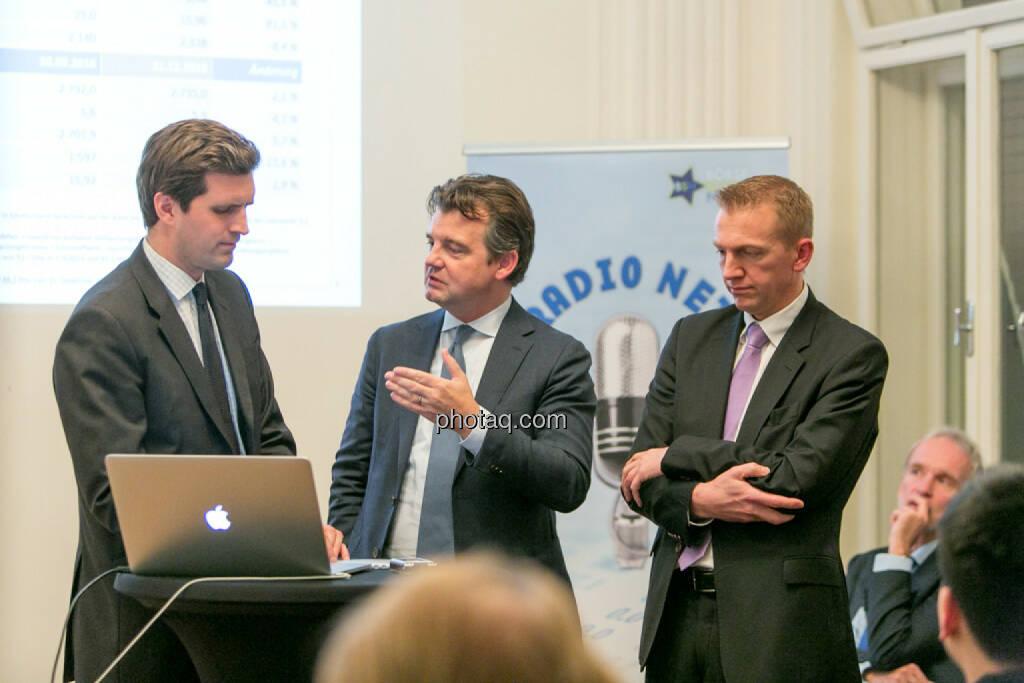 Clemens Billek (conwert), Marc Tüngler (DSW), Rene Hoffmann (Vonovia), © Martina Draper/photaq (27.11.2016)