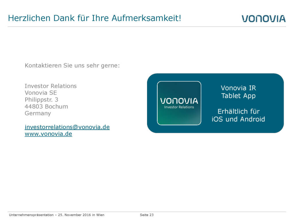 Vonovia Danke (28.11.2016)