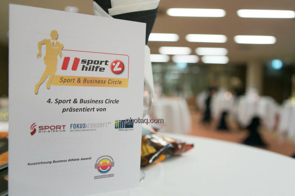 Business Athlete Award 2016, © Martina Draper/photaq (06.12.2016)