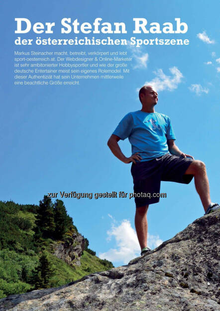 Markus Steinacher im Business Athlete Award Magazine  (06.12.2016)