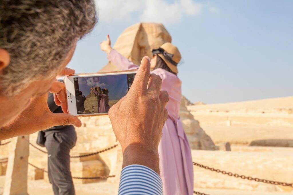 Sphinx Ägypten, © Dirk Herrmann (07.12.2016)