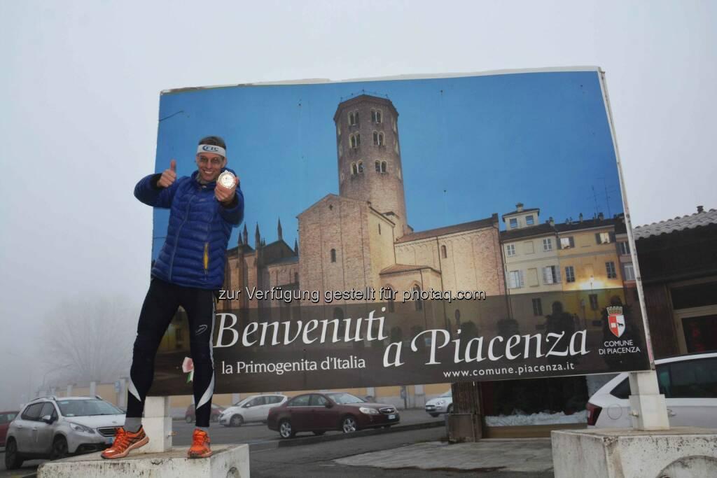 Rolf Majcen beim Treppenlauf in Piacenza (12.12.2016)