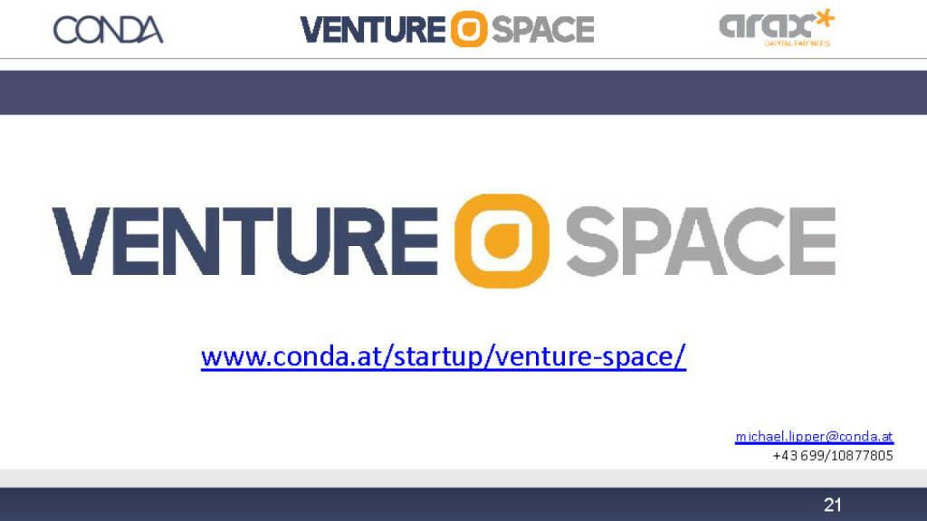 Conda Venture Space Kontakt (12.12.2016)