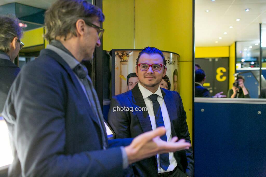 Josef Chladek (BSN), Michael Plos (BSN), © Martina Draper/photaq (13.12.2016)