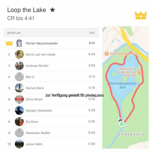 Loop the Lake, © Florian Neuschwander (15.12.2016)