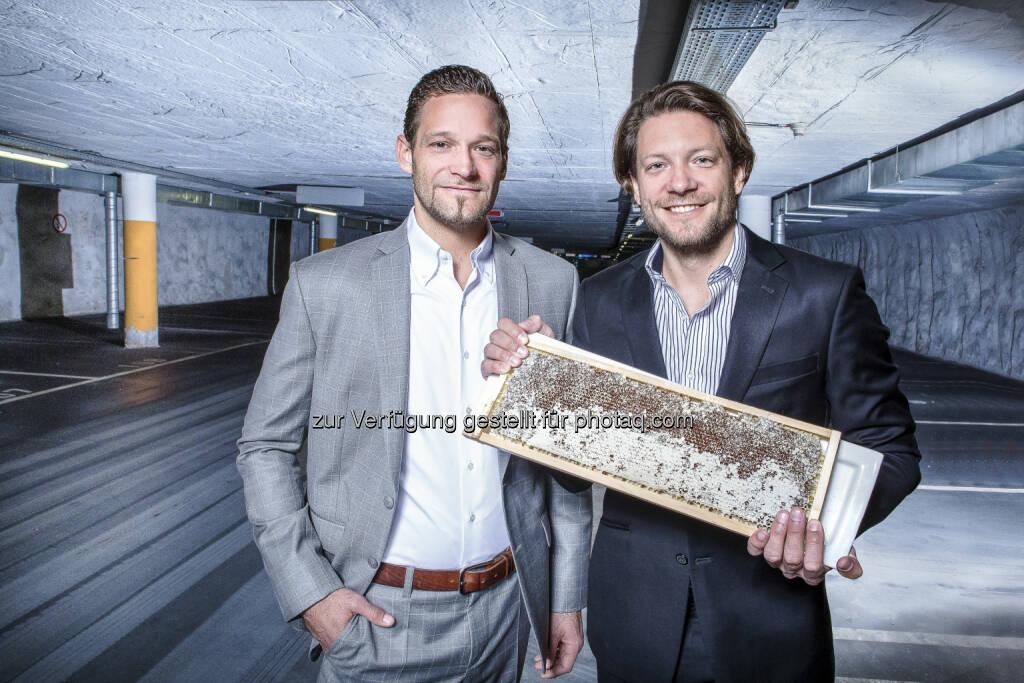Michael Ploberger und Markus Ploberger - Wels Marketing & Touristik GmbH: Zwei Brüder, zwei Projekte, zwei Bauphasen (Fotocredit: Tourismusverband Wels), © Aussendung (16.12.2016)