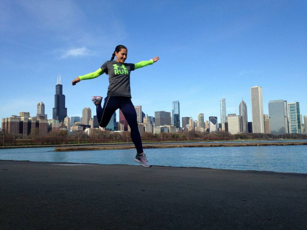 Monika Kalbacher Nominierung Mein Sportschnappschuss 2016 ...beim Laufen in Chicago.. - Voten und/oder auch sich selbst nominieren unter http://www.facebook.com/groups/Sportsblogged (28.12.2016)