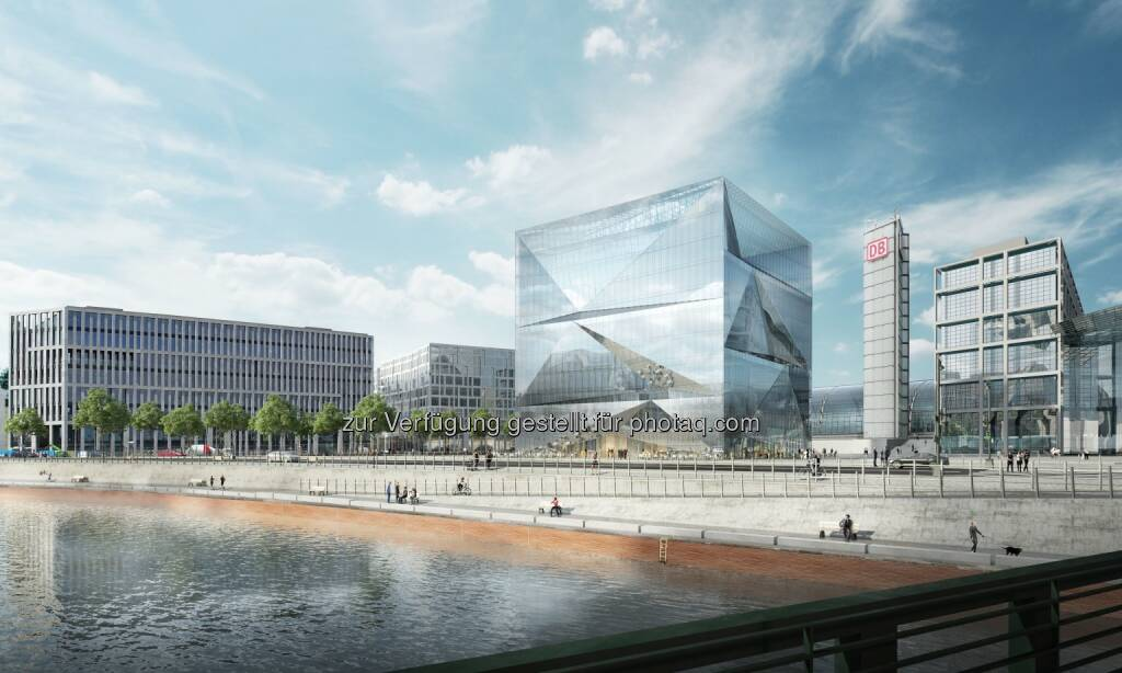 Bürogebäude cube Berlin am Hauptbahnhof - CA Immobilien Anlagen AG: CA Immo verkauft Büroprojekt in Berliner Top-Lage (Fotocredit: CA Immo), © Aussendung (09.01.2017)