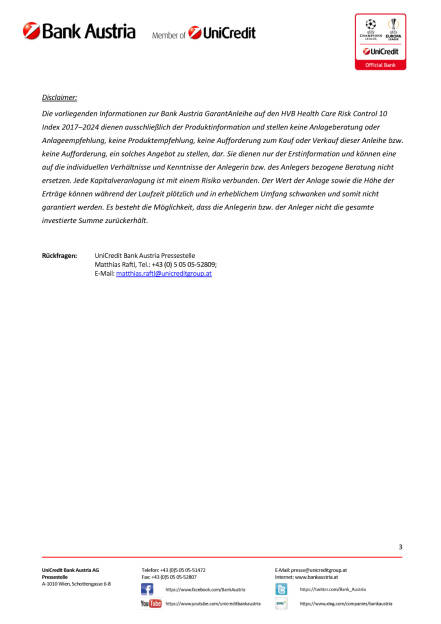 Die neue Bank Austria GarantAnleihe auf den HVB Health Care Risk Control 10, Seite 3/3, komplettes Dokument unter http://boerse-social.com/static/uploads/file_2048_die_neue_bank_austria_garantanleihe_auf_den_hvb_health_care_risk_control_10.pdf (09.01.2017)