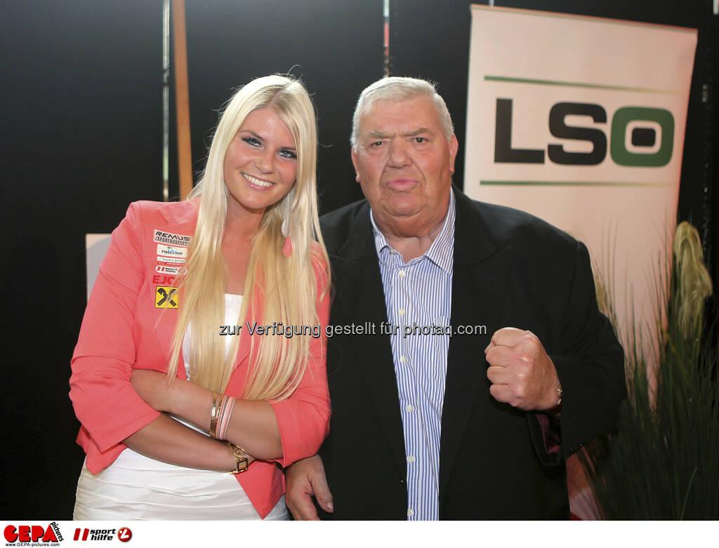 Lisa Zaff (AUT) und Otto Wanz, Foto: GEPA pictures/ Markus Oberlaender (08.05.2013)