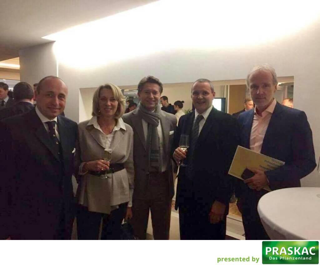 Mit Michael Müller & Co. bei der Wiener Privatbank (12.01.2017)