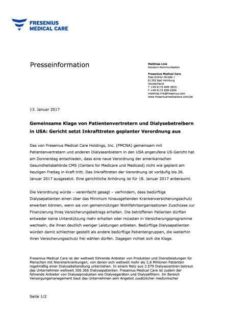 FMC: Gericht setzt Inkrafttreten geplanter Verordnung aus, Seite 1/2, komplettes Dokument unter http://boerse-social.com/static/uploads/file_2056_fmc_gericht_setzt_inkrafttreten_geplanter_verordnung_aus.pdf (13.01.2017)