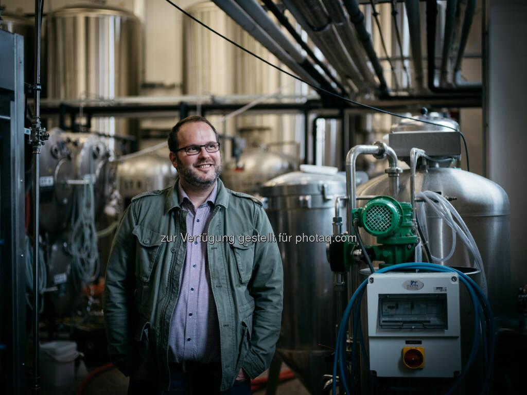 """Reinhold Barta ist """"Braumeister des Jahres 2017"""", Brauerei Gusswerk GmbH (C) Brauhaus Gusswerk, © Aussendung (24.01.2017)"""