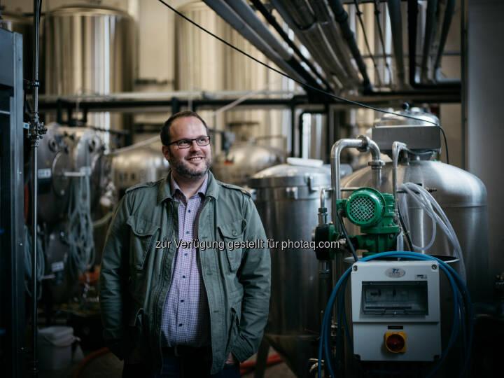 """Reinhold Barta ist """"Braumeister des Jahres 2017"""", Brauerei Gusswerk GmbH (C) Brauhaus Gusswerk"""