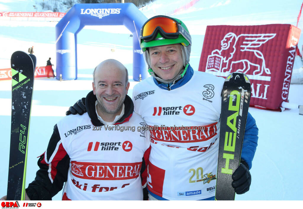 Ski for Gold Charity Race. Image shows Andy Lee Lang and Alex Kristan. Photo: GEPA pictures/ Harald Steiner (26.01.2017)