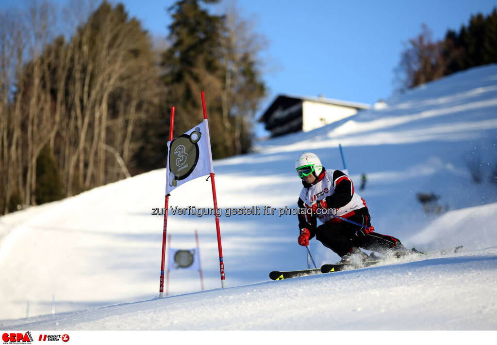 Ski for Gold Charity Race. Image shows Andy Lee Lang. Photo: GEPA pictures/ Daniel Goetzhaber (26.01.2017)