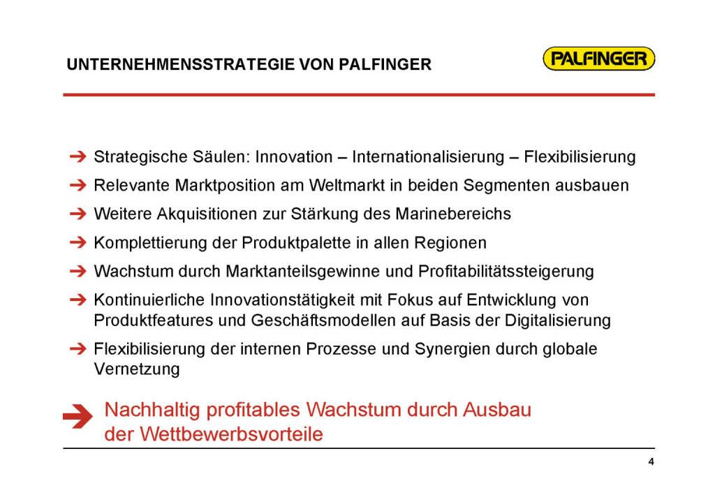 Palfinger - Unternehmensstrategie (01.02.2017)