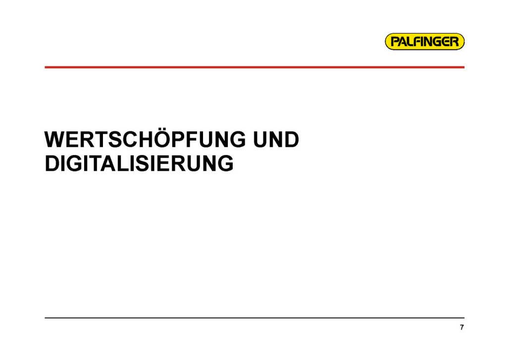 Palfinger - Wertschöpfung (01.02.2017)