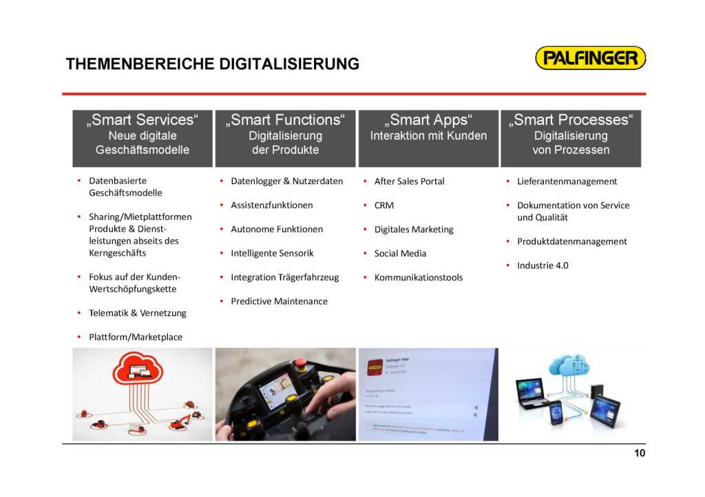 Palfinger - Themenbereiche Digitalisierung (01.02.2017)