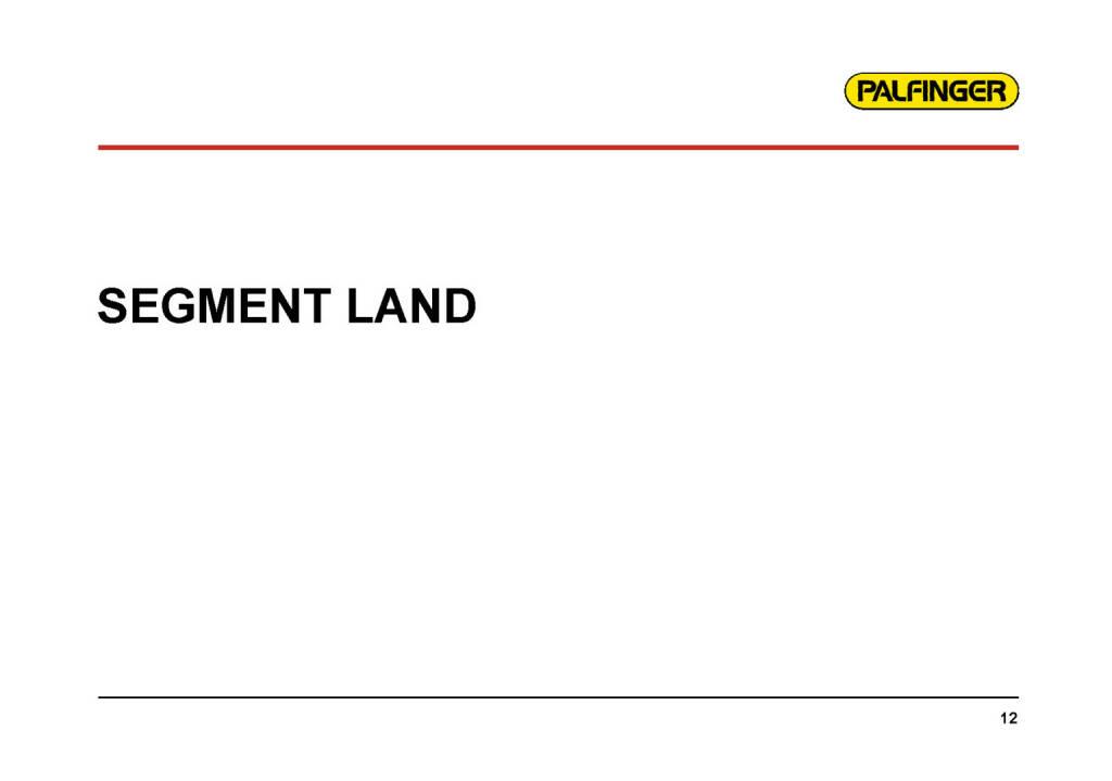 Palfinger - Segment Land (01.02.2017)