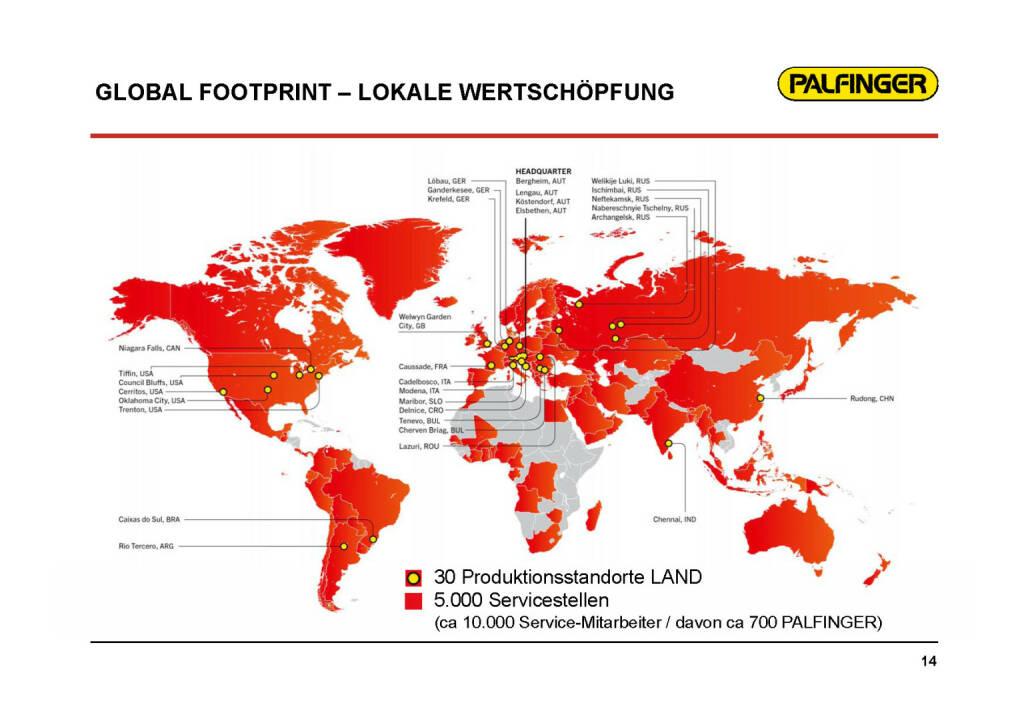 Palfinger - Global Footprint (01.02.2017)