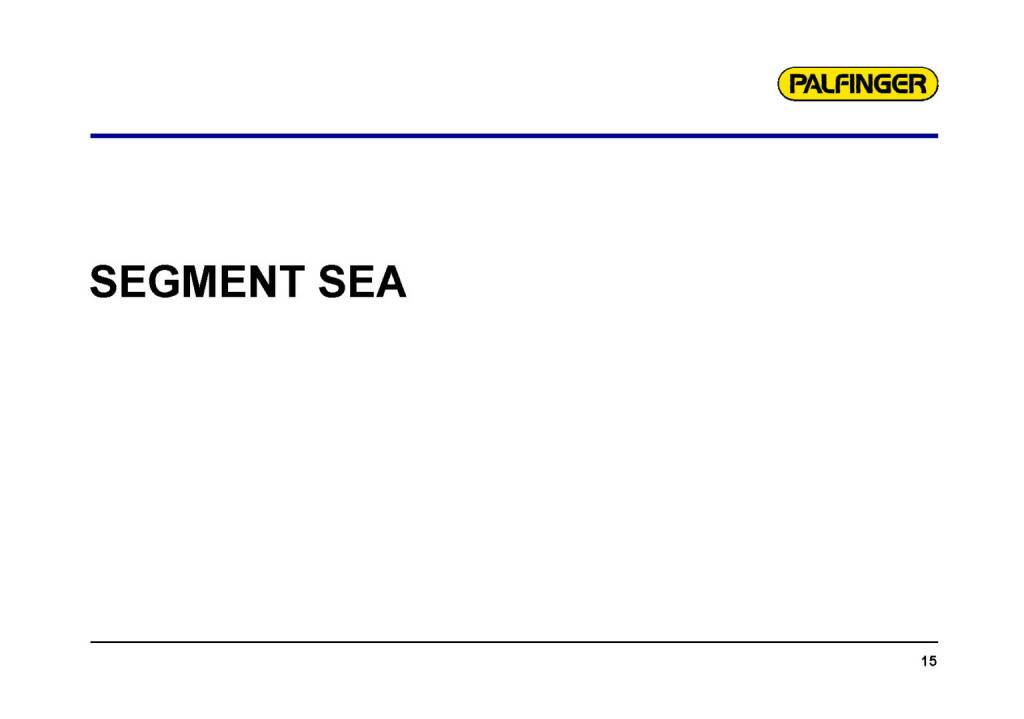 Palfinger - Segment SEA (01.02.2017)
