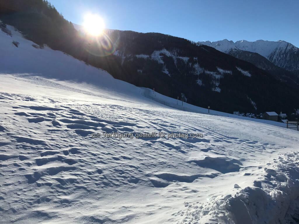 Sonne, Schnee, aufgehen (07.02.2017)