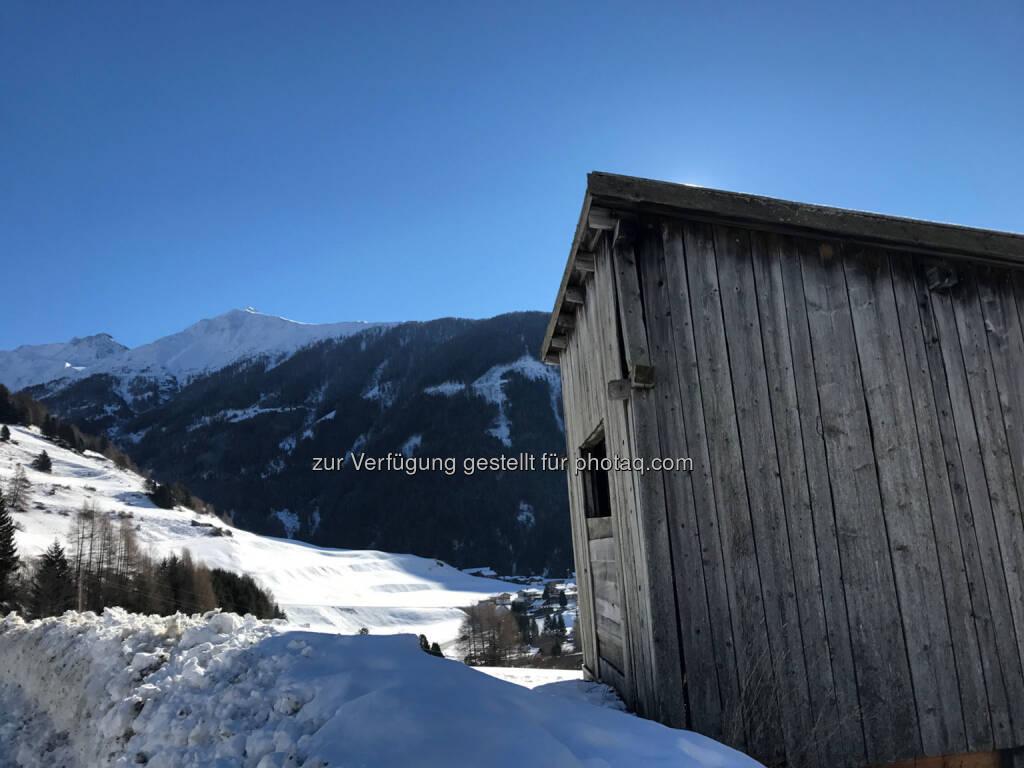 Kals, Osttirol, Hütte, Schnee (07.02.2017)