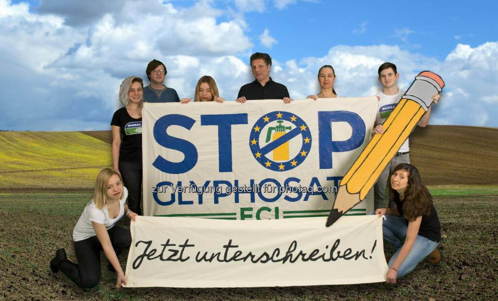 GLOBAL 2000: GLOBAL 2000: Startschuss für Europäische Bürgerinitiave gegen Glyphosat (Fotocredit: GLOBAL 2000), © Aussender (08.02.2017)