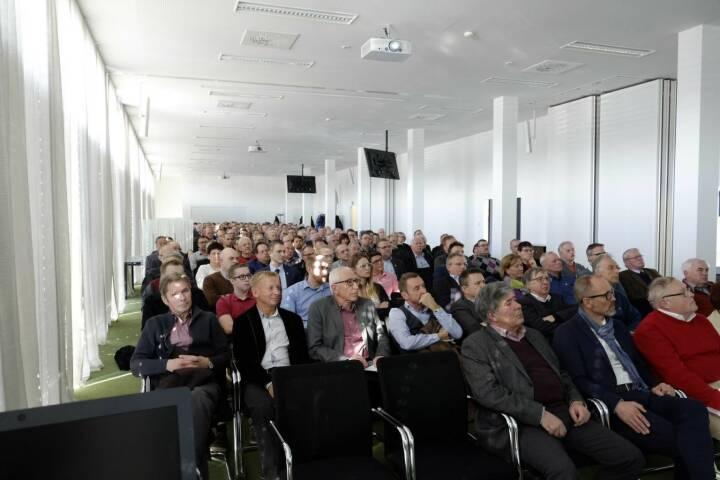 FACC-Aktionärstag: 230 Gäste, ausgebucht @drastil #facc