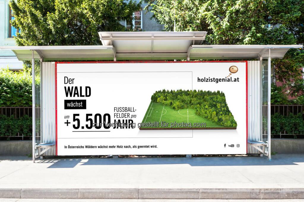 proHolz Austria - Arbeitsgemeinschaft der österreichischen Holzwirtschaft: Holz ist genial - proHolz Austria mit neuer Kampagne on air. (Fotocredit: proHolz Austria), © Aussender (13.02.2017)