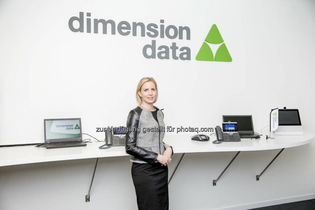 """Eva-Maria Huysza, Director HR, Dimension Data Austria - Dimension Data: Dimension Data Austria erstmals als """"Top Employer 2017"""" ausgezeichnet (Fotocredit: Dimension Data), © Aussender (14.02.2017)"""